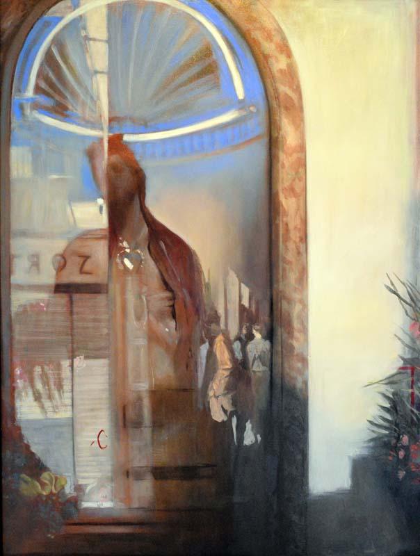 Andreas Wachter, Palermo, 130x100cm, 2005, Mischtechnik auf Hartfaser