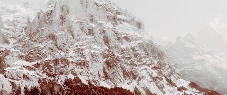 Florian Richter, Wetterhorn und Eiger, 90x213 cm, 2010, C-Print