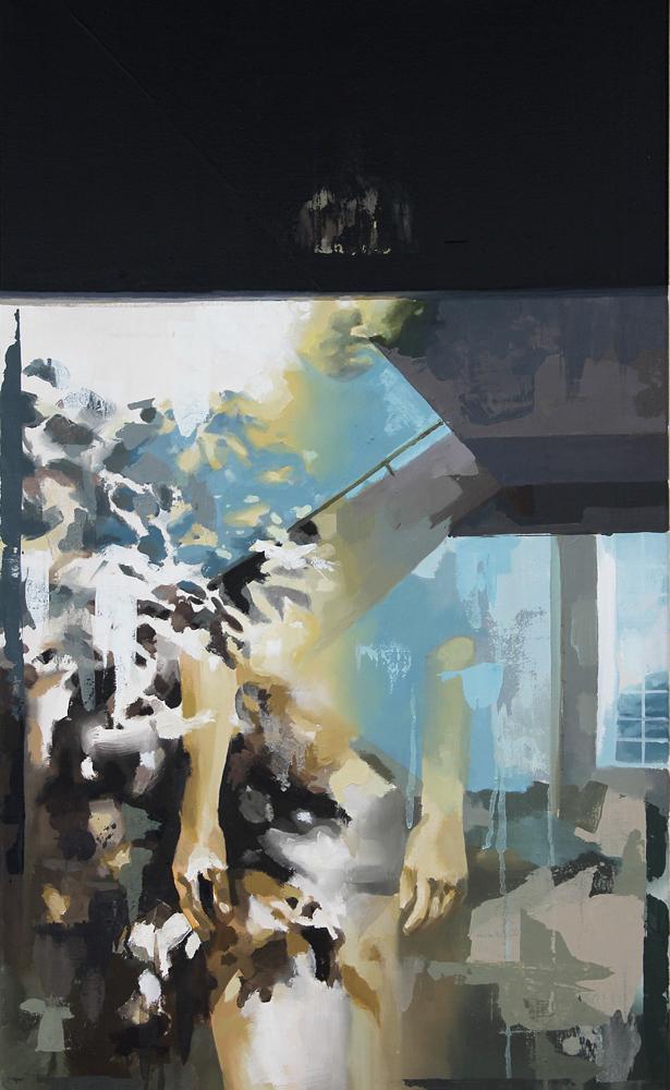 Franz Ehrenberg, Weiter Flur, 100x60cm, 2011, Öl auf Leinwand
