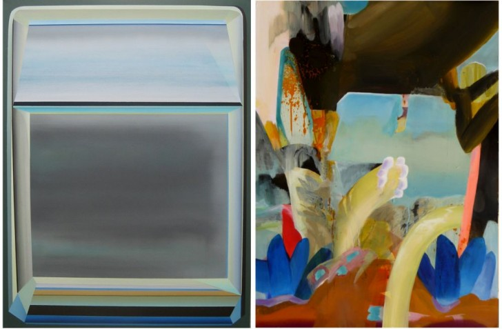 Marten Kirbach / Carolin Israel, 2015, Öl auf Leinwand