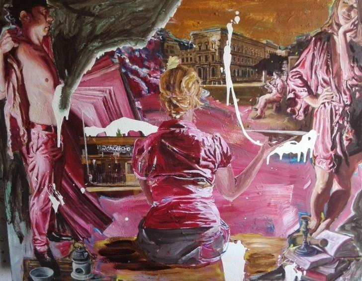 Martin Ziegler, Sommertraum, 120x150 cm, 2015, Acryl auf Leinwand
