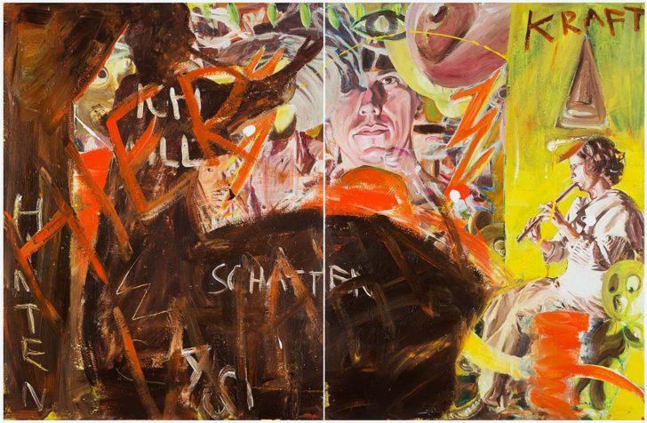 Martin Ziegler, Schatten, 130x200 cm, 2013, Acryl auf Leinwand