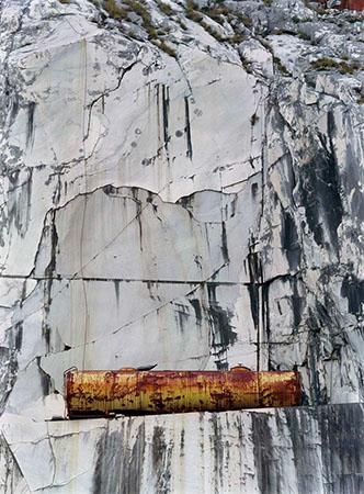 Bertram Kober, Carrara Nr. 14, 150x120 cm, C-Print
