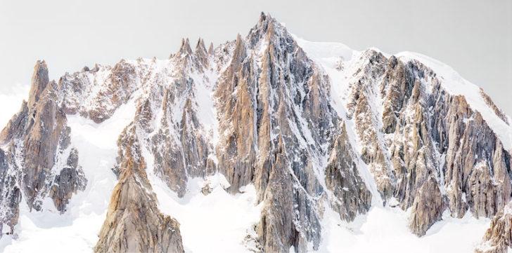 Florian Richter, L'Aiguilles du diable, 132x65 cm, Pigmentdruck