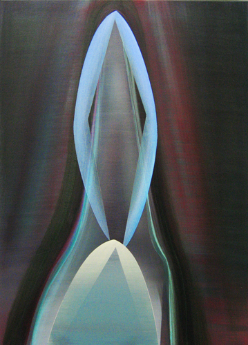 Marten Kirbach, Bildnis, 70x50 cm, 2013, Acryl auf Leinwand