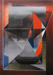 Marten Kirbach, o. T., 100x70 cm, 2012, Acryl auf Leinwand
