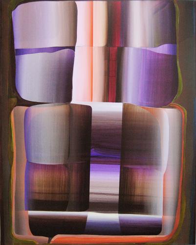 Marten Kirbach, o. T., 95x75 cm, 2013, Acryl auf Leinwand