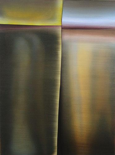 Marten Kirbach, o. T., 80x60 cm, 2013, Acryl auf Leinwand