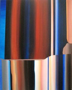 Marten Kirbach, Schnittstelle, 95x75 cm, 2013, Acryl auf Leinwand