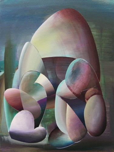 Marten Kirbach, Zwerg, 60x45 cm, 2013, Acryl auf Leinwand