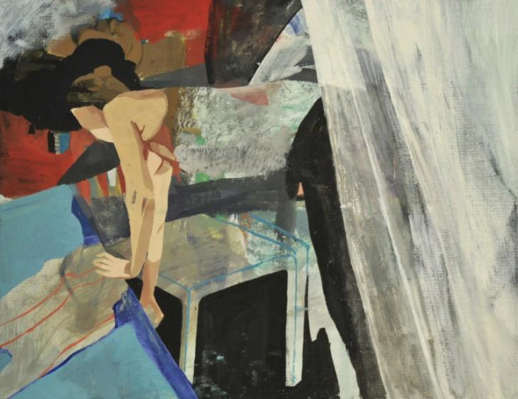 Susanne Wurlitzer, Caro, 2012, Acryl und Öl auf Leinwand