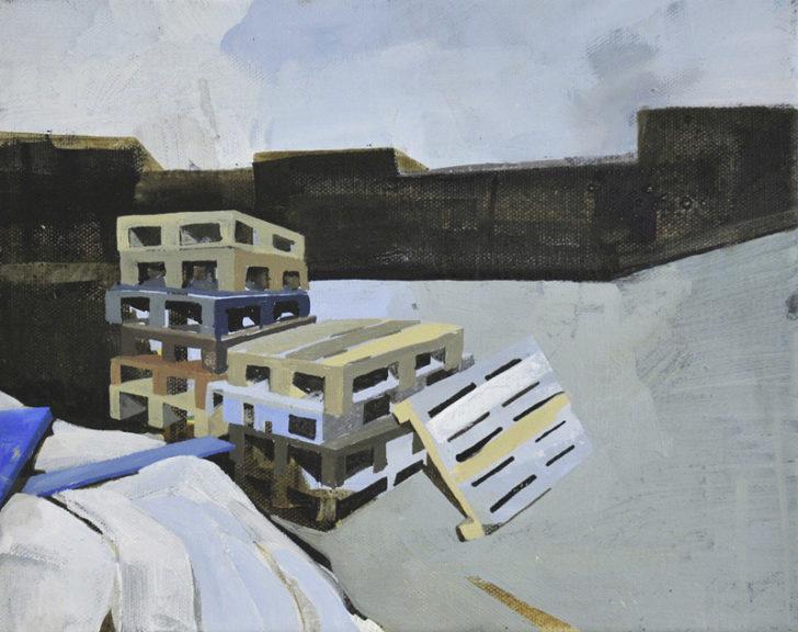Susanne Wurlitzer, Freest, 2001, Öl auf Leinwand