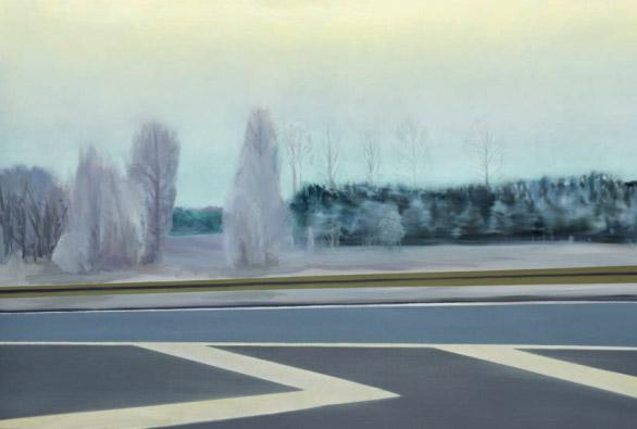 Mathias Perlet, B2-3, 80x120 cm, 2011, Öl auf Leinwand