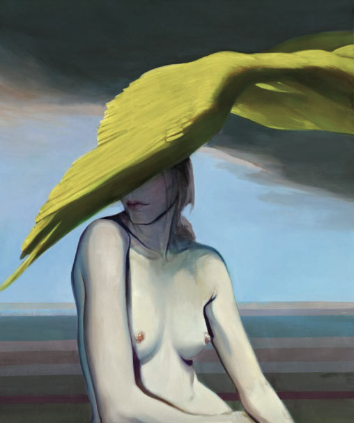 Mathias Perlet, Leda, 120x100 cm, 2011, Eitempera mit Öl auf Leinwand