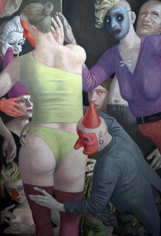 Volker Stelzmann, Il Corno, 150x100 cm, 2011