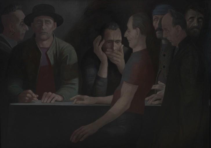 Volker Stelzmann, Oscuramento, 100x140 cm, 2008/09