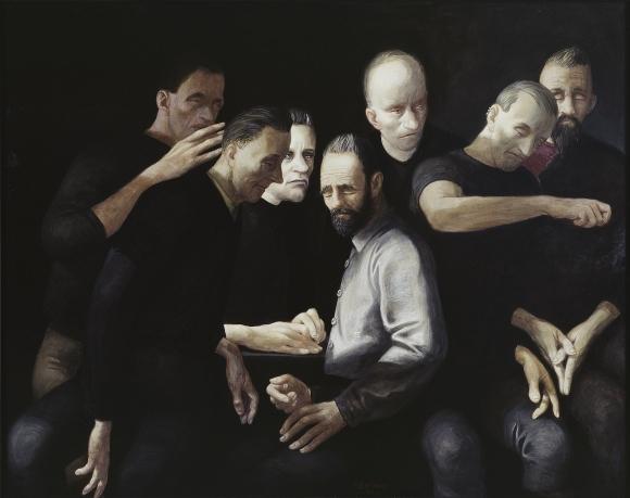 Voer Stelzmann, Chiaroscuro, 110 x 140 cm, 2005