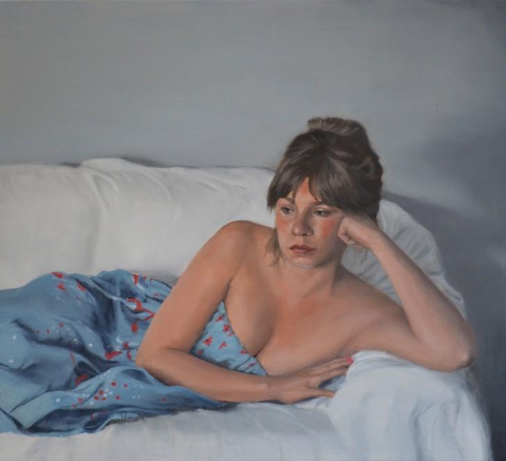 Sebastian Friedrich, Mädchen auf dem Sofa