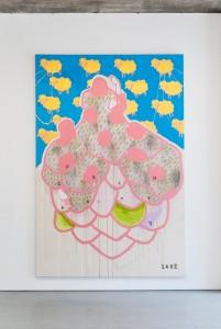 Marta Vovk for charity´s sake, 2015, 300 x 200 cm, Acryl auf Leinwand
