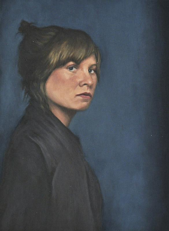 Sebastian Friedrich, o. T., 25x18 cm, 2012, Öl auf Holz