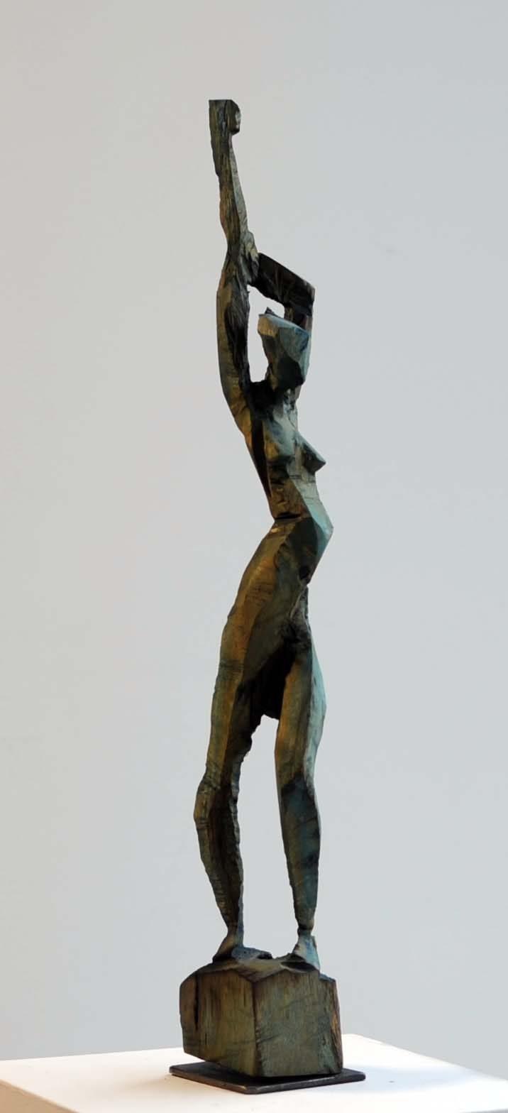 Charlott Szukala, Kleiner Akt 1, Holz