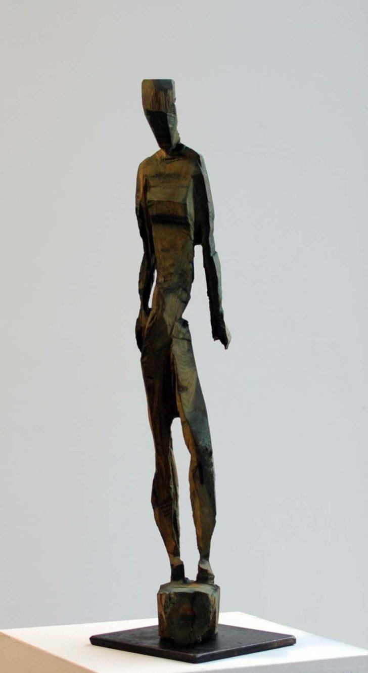 Charlott Szukala, Kleiner Akt 3, Holz