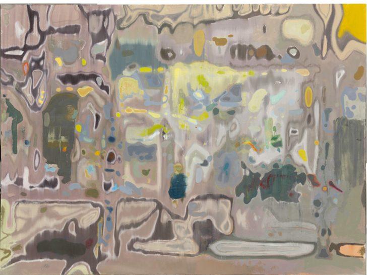 Jens Wohlrab, Big Sao Paulo, 200x270 cm, 2010, Öl auf Leinwand
