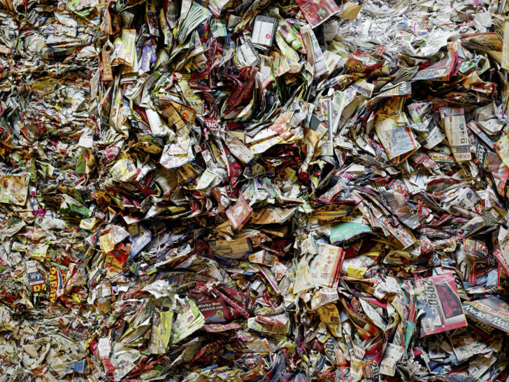 Bertram Kober, Paperhill 10, 90x120 cm, 2016, Pigmentdruck