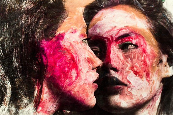 Loreen Hinz, Iconoclast Ella 2, 80x60 cm, Pigmentdruck auf Hahnemühle