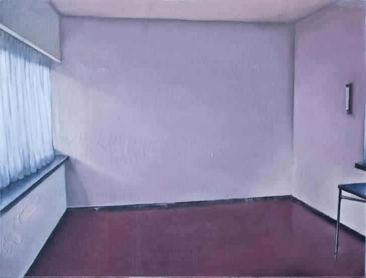 Michael Klipphahn, Raum, 30x40 cm, 2016, Öl auf Holz