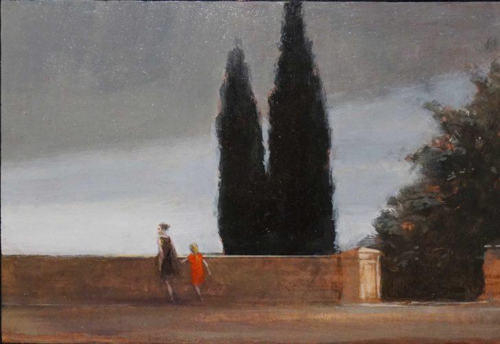 Andreas Wachter, Cosignano, 203x298 cm, 2016