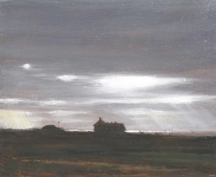 Andreas Wachter, Sylt, 25x25 cm, 2016