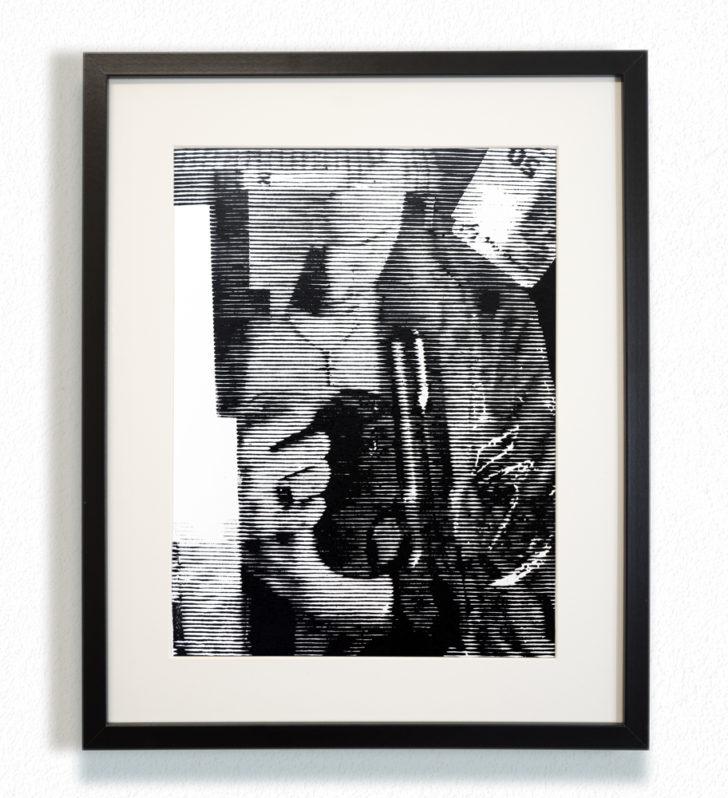 Franz Ehrenberg, Zwanzig Gramm, 30x40 cm, 2016, Holzschnitt