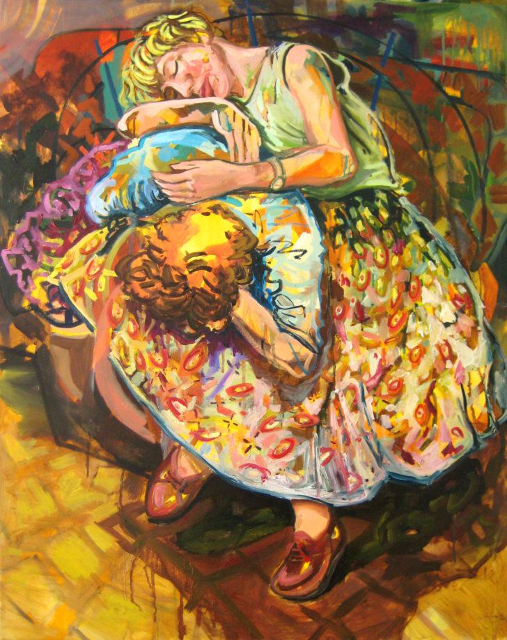 Viktoria Graf, Traum, 100x80 cm, 2014, Öl auf Leinwand