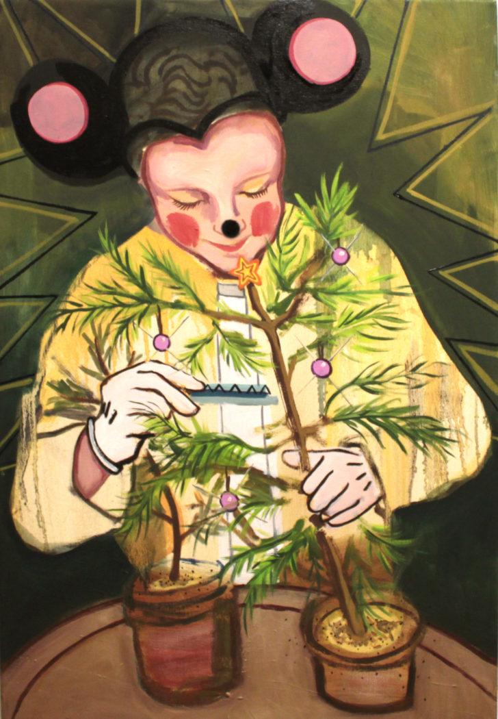 Viktoria Graf, Jugendforscht, 72x50 cm, 2016, Öl auf Leinwand