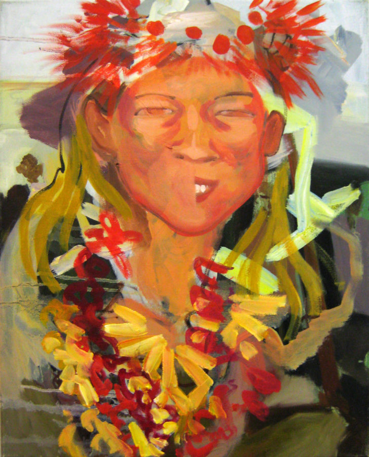 Viktoria Graf, Satori, 50x40 cm, 2017, Öl auf Leinwand