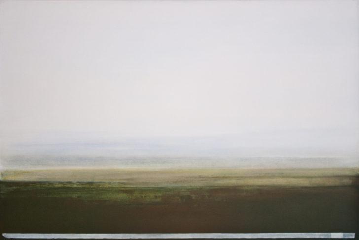 Sebastian Herzau, still-L-001-17, 2017, Öl auf Leinwand