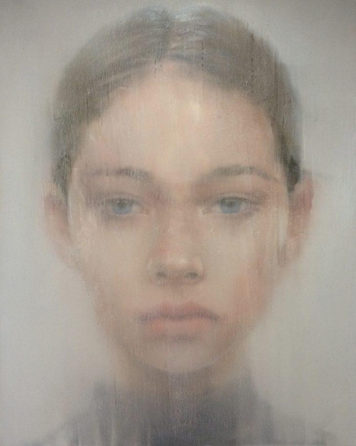 Sebastian Herzau, tgb-B.-I-16, 150x120 cm, 2016, Öl auf Leinwand