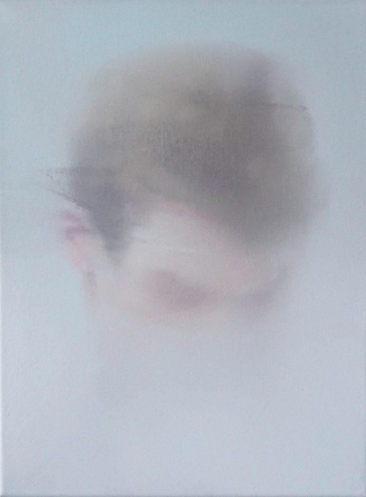 Sebastian Herzau, tgb-P-I-17, 40x30 cm, 2014, Öl auf Leinwand