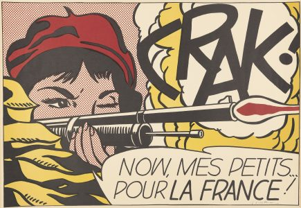 Roy Lichtenstein, Crack!