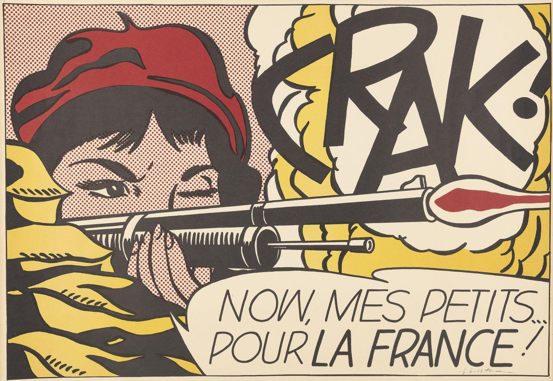 Roy Lichtenstein, Crack!