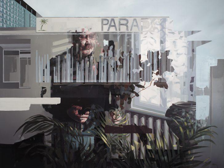 Franz Ehrenberg, Paradies, 180x135cm, 2017, Öl auf Leinwand