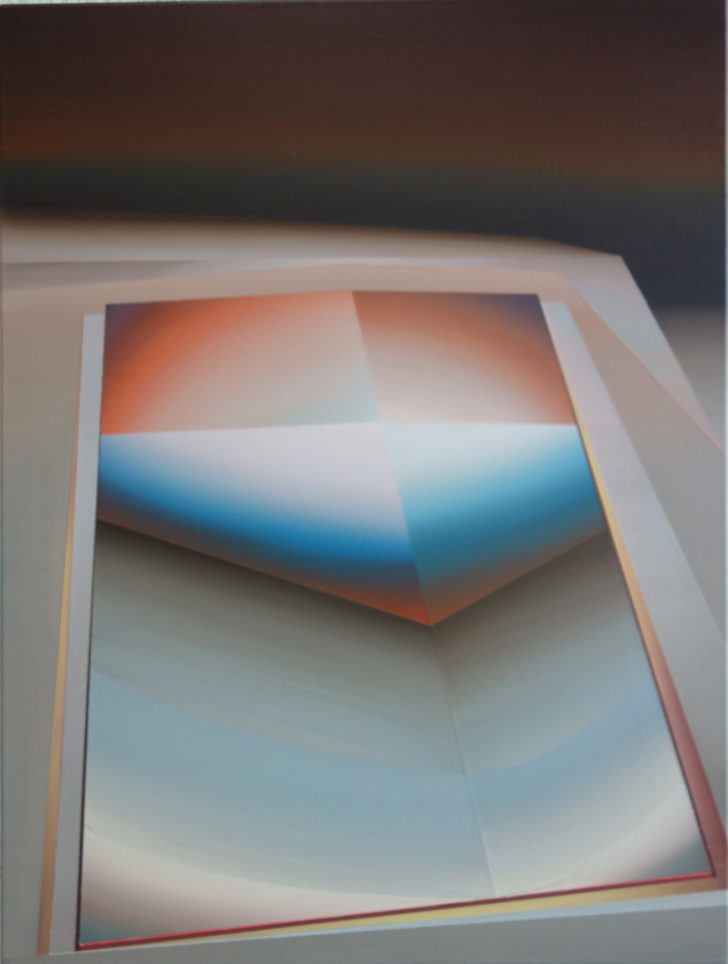 Marten Kirbach, o. T., 80x60 cm2016, Öl auf Leinwand