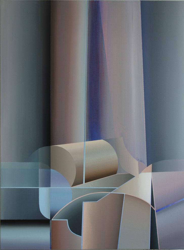 Marten Kirbach, Restwärme, 100x75 cm, 2017, Acryl auf Leinwand