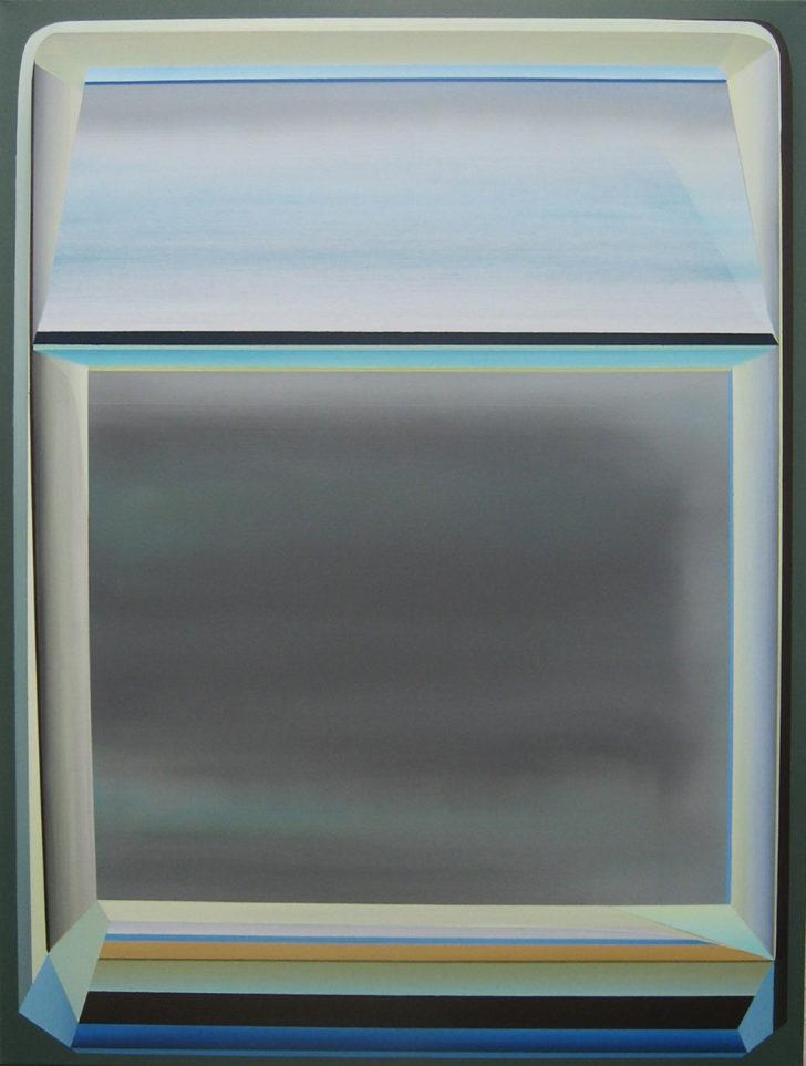 Marten Kirbach, Modul, 93x70 cm, 2015, Acryl auf Leinwand
