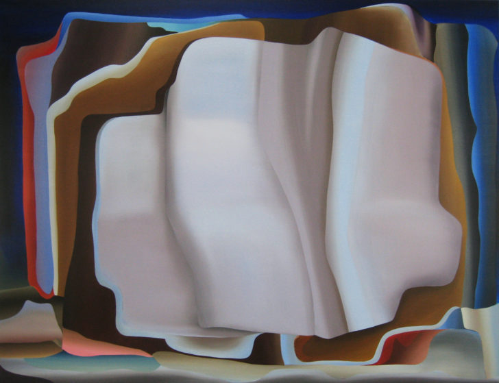 Marten Kirbach, Soft layers, 95x125 cm, 2014, Acryl auf Leinwand