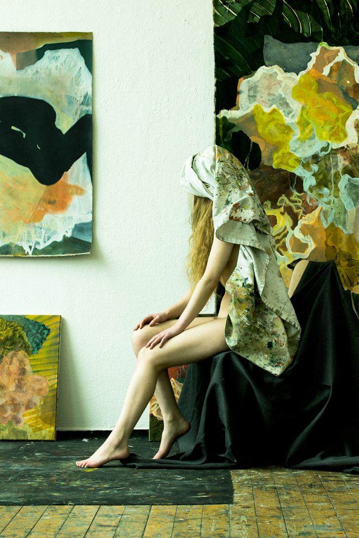 Loreen Hinz, Madame Seeadler 3, 100x70 cm, 2016, Pigmentprint auf Hahnemühle