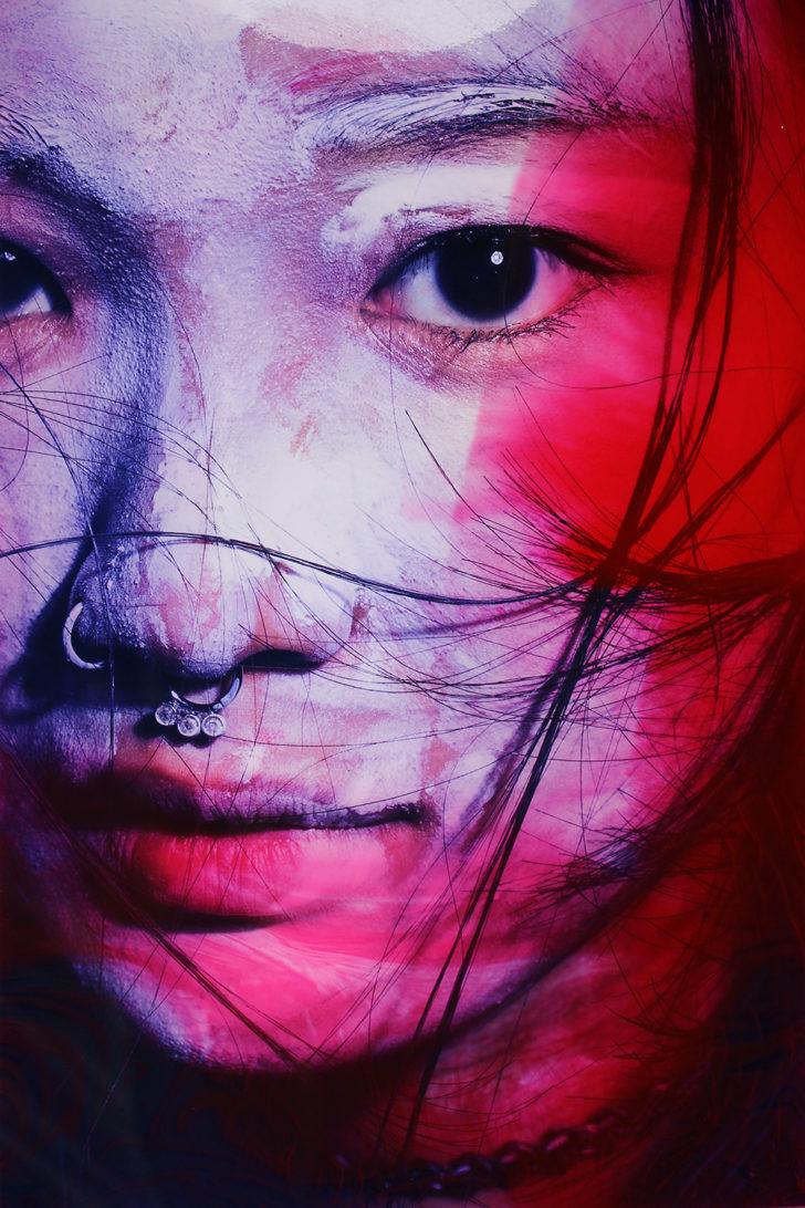 Loreen Hinz, Meiko 2, 60x40 cm, 2017, Pigmentprint auf Hahnemühle