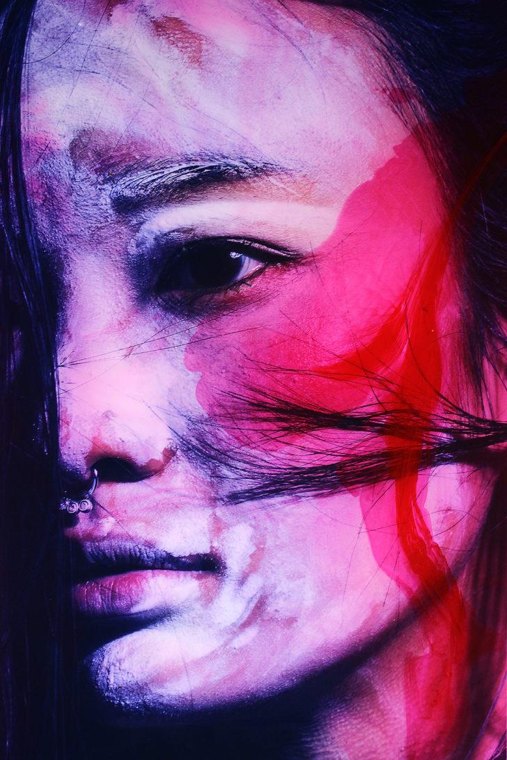 Loreen Hinz, Meiko 5, 60x40 cm, 2017, Pigmentprint auf Hahnemühle