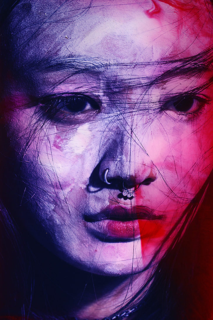 Loreen Hinz, Meiko 7, 60x40 cm, 2017, Pigmentprint auf Hahnemühle